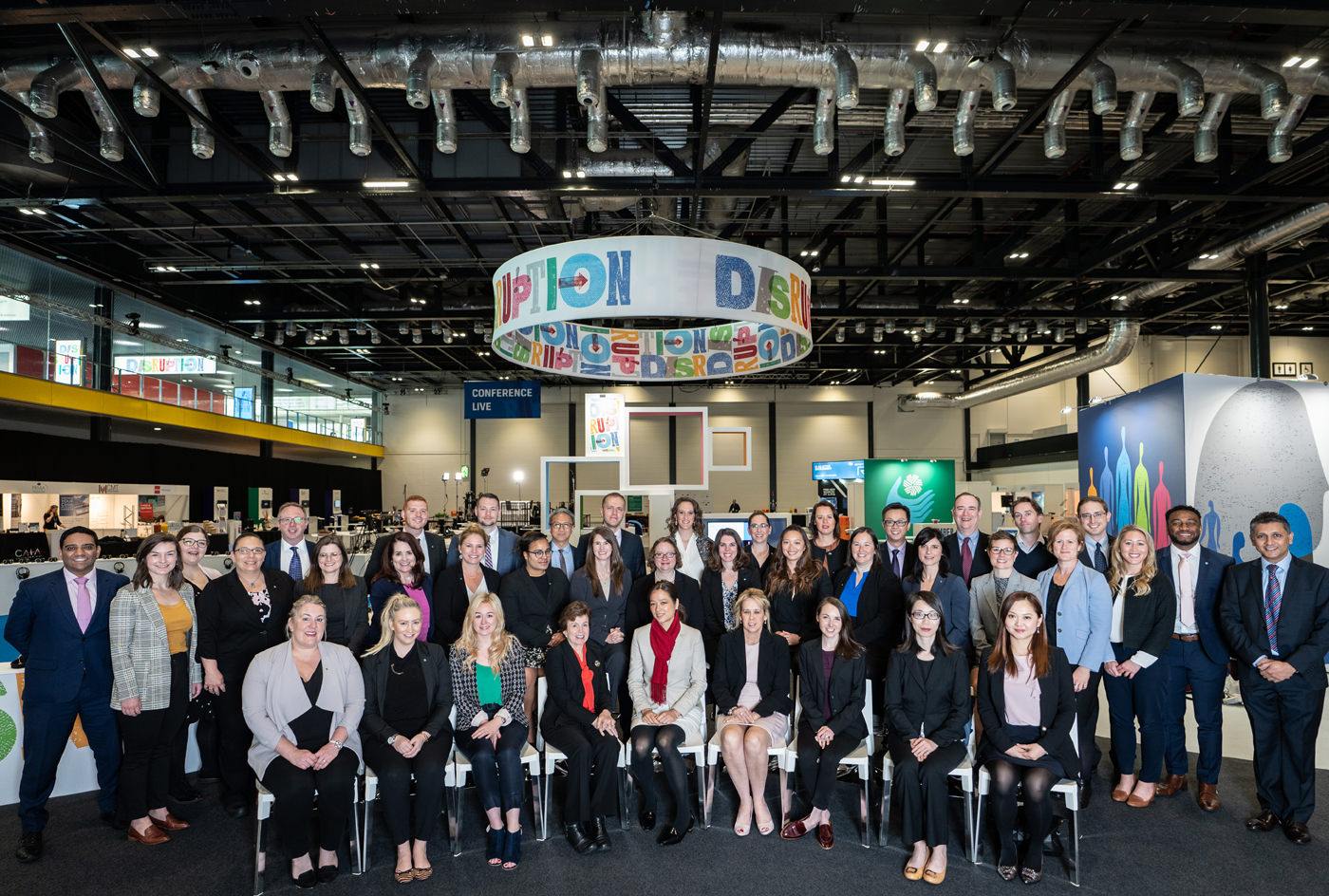 The CFA Institute team at the 2019 Annual Conference