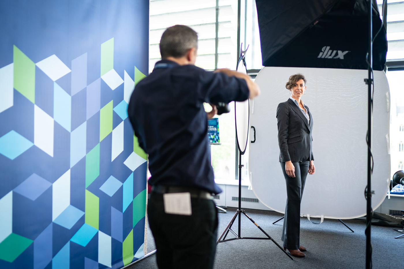 Free headshots for delegates of the CFA SLC Conference 2019
