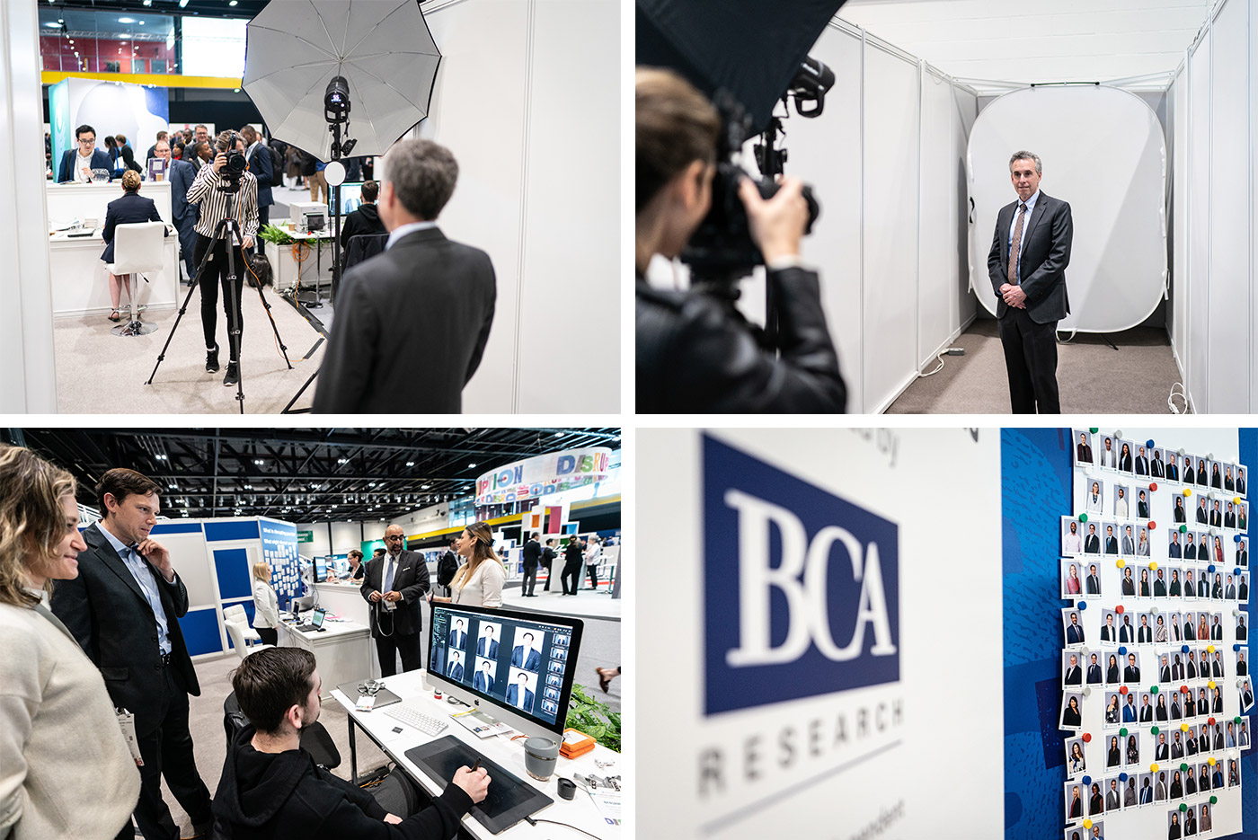 Free headshots for delegates of the CFA Annua Conference 2019 sponsored by BCA Research